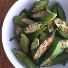 Roasted Okra Chips from 'Mastering the Art of Southern Cooking'