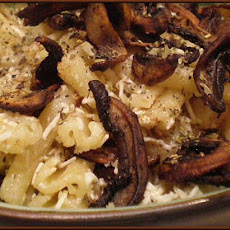 Mushroom Pasta With Browned Butter and Cheezus!
