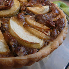 Anna's Apple Ginger Pecan Tart