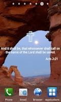Screenshot of Bible Verses Live Wallpaper