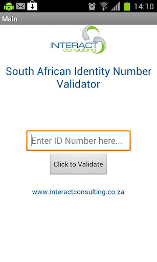 South African ID Validator