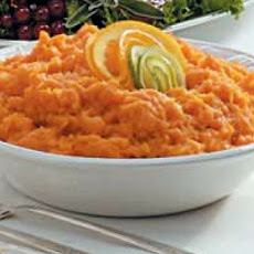 Spicy Whipped Sweet Potatoes