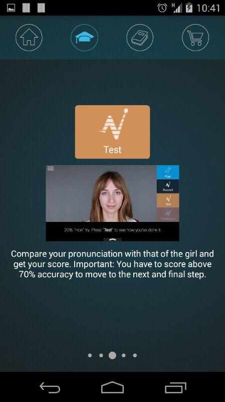 Nativox: your english tutor Screenshot 11