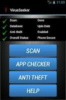 Screenshot of Virus Seeker Mobile Security