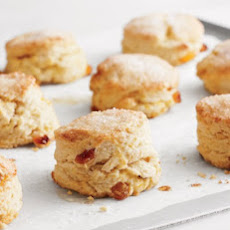 Candied Orange and Golden Raisin Scones