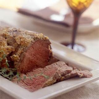 Horseradish Crusted Beef Tenderloin Roast Recipes