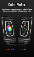 Screenshot of Bright Color Flashlight free