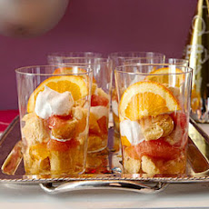 Mini Citrus and Cream Trifles