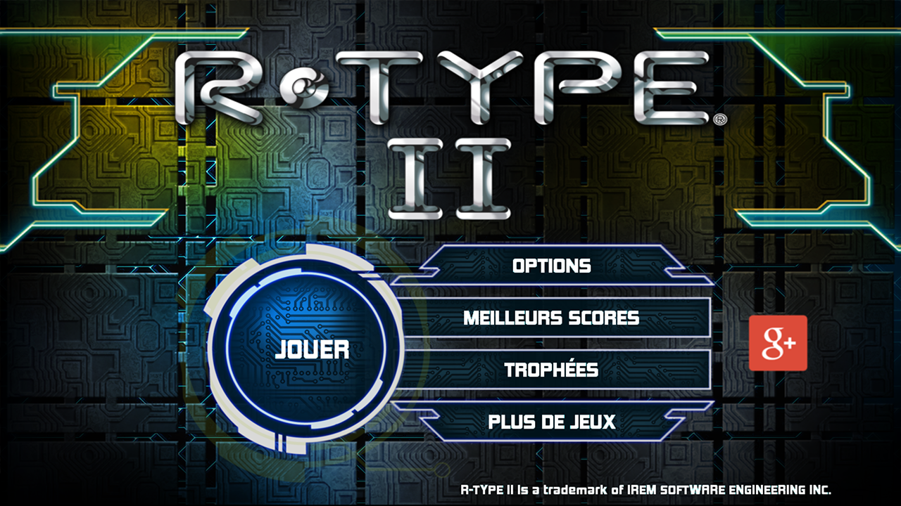 R-TYPE II Screenshot 0