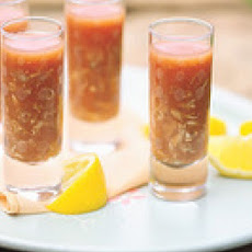 Bloody Mary Clam Shooters