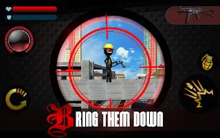 Screenshot of Stickman Shooter 3D