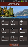 Screenshot of Lake Garda Travel Guide