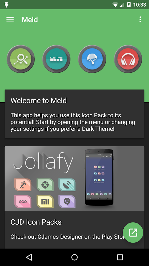 Meld HD Icon Pack Screenshot 4