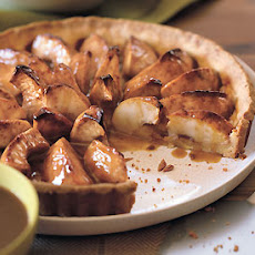 Apple Tart with Caramel Sauce
