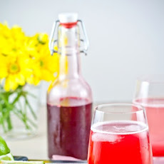 Blood Plum Cordial