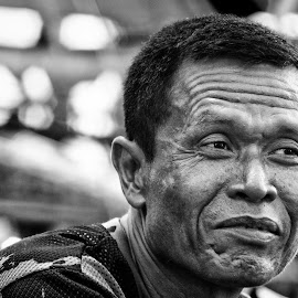 by Aji Mulyono - People Portraits of Men