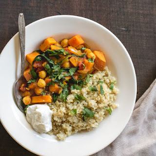 Moroccan Sweet Potato Chickpea Recipes