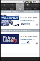 Screenshot of lasiciliaweb mobile