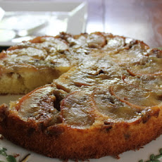 Upside-Down Apple Cake with Walnut and Sage