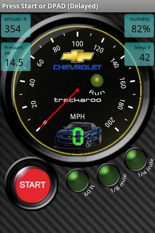 Chevy Speedo Dynomaster Layout