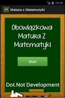Screenshot of Matura z Matematyki 2015