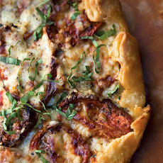 Roasted Tomato-Basil Tart