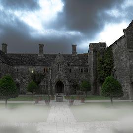fog day.. by Guilherme  Junior - Buildings & Architecture Public & Historical ( clouds, buildings, landscapes, mist )