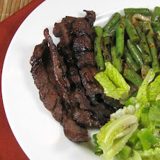 Bulgogi (Korean Grilled or Broiled Beef)