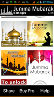 Screenshot of Emoji: Jumma Mubarak 4 ChatApp