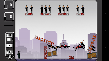 Screenshot of Shooting Game: Mafia Kills