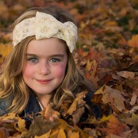 Autumn Beauty by Janice Poole - Babies & Children Child Portraits (  )