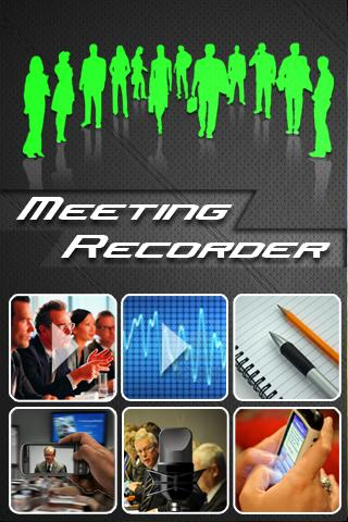 【免費商業App】Meeting Recorder Lite-APP點子