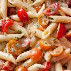 Pasta with Fresh No-Cook Tomato Sauce Recipe