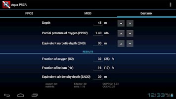 Screenshot of Aqua PSCR