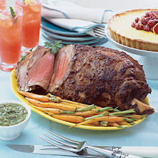 Spice-Rubbed Leg of Lamb