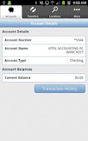 Screenshot of Lee Bank Mobile Banking