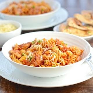 Barbeque Chicken Pasta Recipes