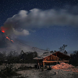 mount sinabung by Tibt Nangin - Landscapes Mountains & Hills ( sinabung )