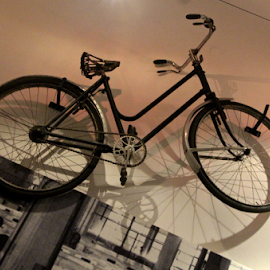 Evita's Bicycle? by Venetia Featherstone-Witty - Transportation Bicycles ( bike, transport, wheels, bicycle, spokes )