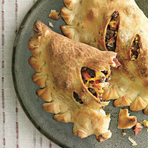 Grilled Bacon Cheeseburger Calzones