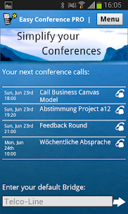 Easy Conference PRO - screenshot