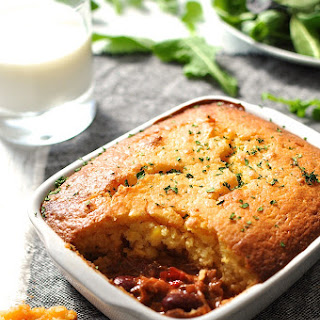 Chili Corn Bread Pie Recipes