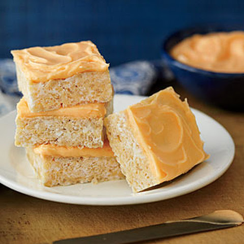 Orange Dreamsicle Crispy Treats