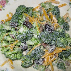 Broccoli and Cheddar Salad