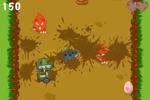Screenshot of Dino Dodger