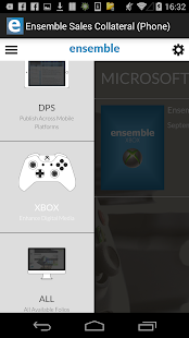 Ensemble Sales Collateral - screenshot