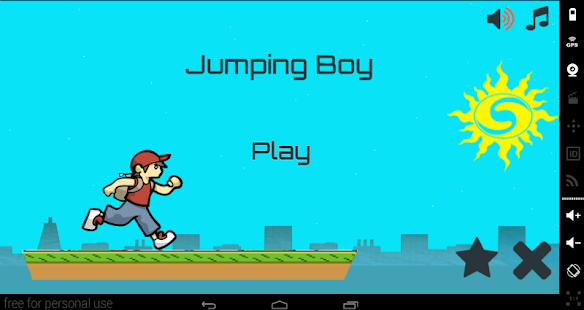 Jumping Boy - screenshot