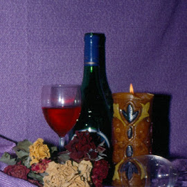 still life by Emily Rainwater Stavedahl - Food & Drink Alcohol & Drinks