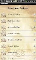 Screenshot of My Digital Tasbeeh