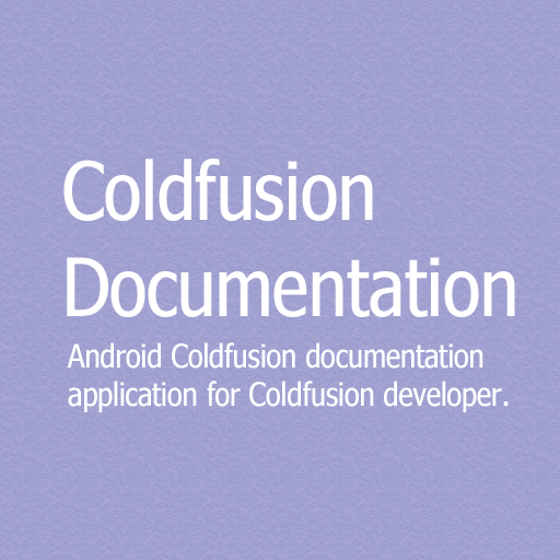 Coldfusion Documentation 書籍 LOGO-阿達玩APP